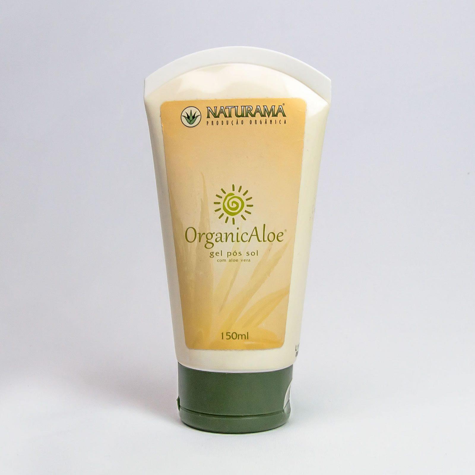 Gel Pós-Sol - OrganicAloe - Cosméticos Naturama